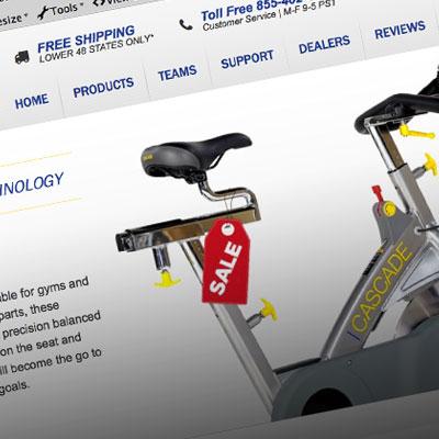Cascade Bike Trainers Website Design and Development
