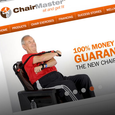 Seattle Website Designer Project Chair Master by Pure Design Group