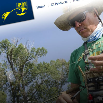 Rising Fish Website Design and Development by Pure Design Group