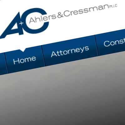 Ahlers & Cressman PLLC - Site Designed by Pure Design Group