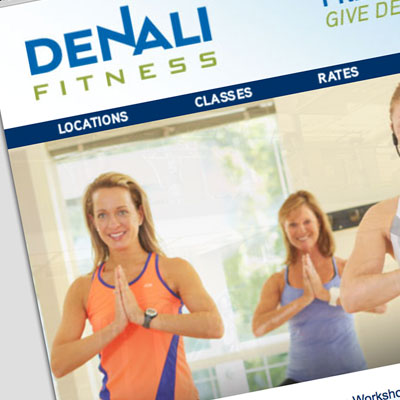 Denali Fitness - Site Design by Pure Design Group