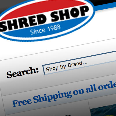 Shred Shop - Chicago's Premier Snowboard & Skate Shop - Site Designed by Pure Design Group