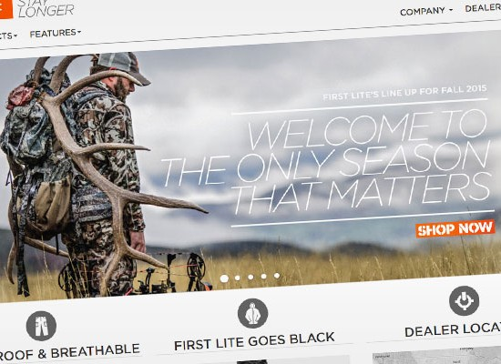 First Lite Magento Wordpress site