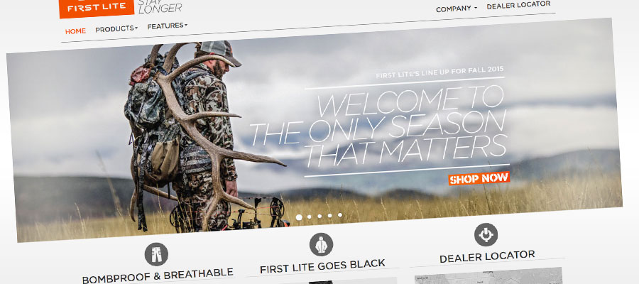 First Lite Magento Wordpress site