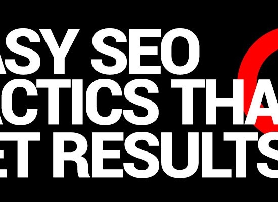 SEO Tactics that are easy to implement