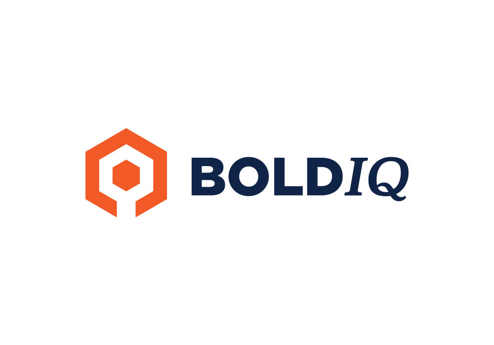 BoldIQ logo design