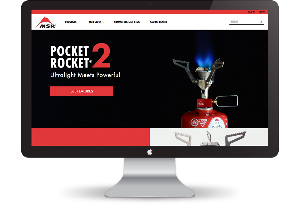 MSR Website design and video production