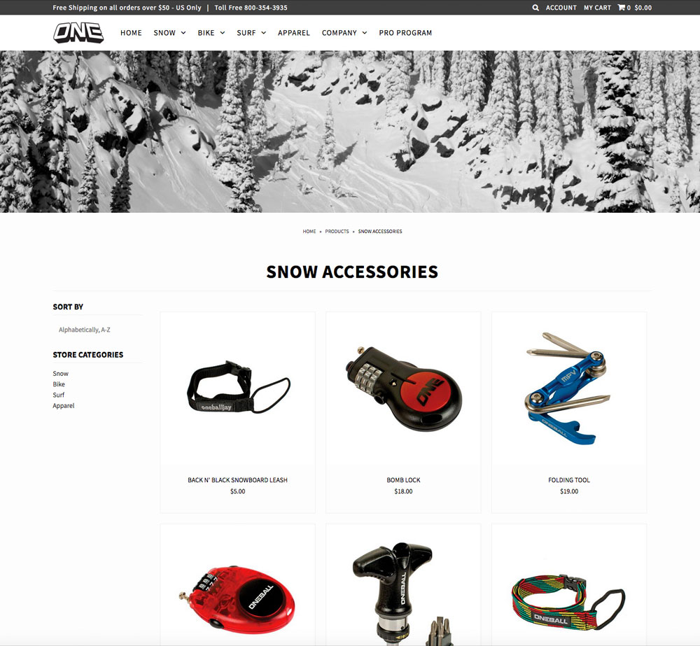 Oneball Shopify Website Design and Product Photography | Pure Design Group Seattle, WA