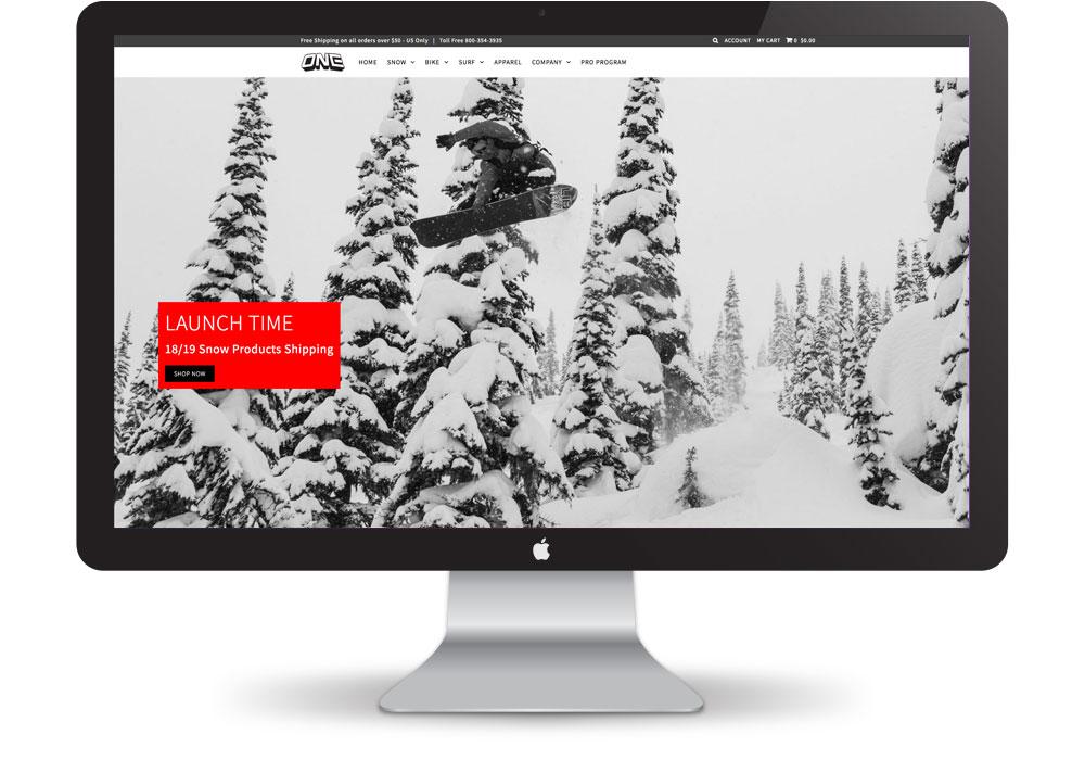 Oneball Website Design | Pure Design Group Seattle