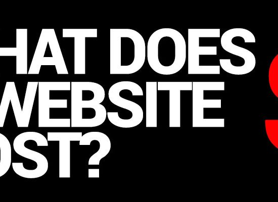 What Does A Website Cost